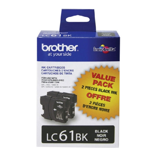Original Brother LC612PKS OEM ink for Brother® DCP165c, 375w, 385c, 395cn, 585cw, J125c, 258c, 255cw, MFC-290c, 295cn, 490cw, 495cw, 790cw, 795cw, 5490cn, 5895cw, 6490cw, 6890cdw, J220, J265w, J270w, J410w, J415w, J615w, J630w.