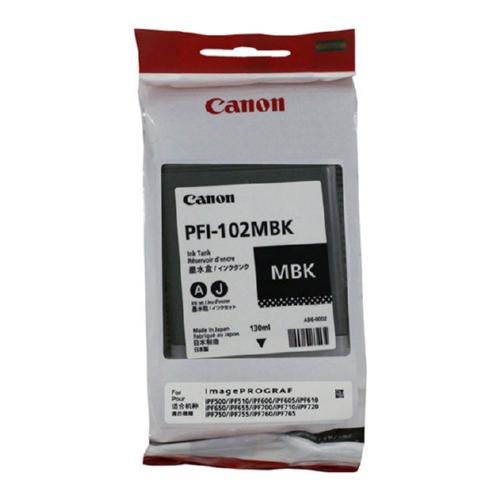 0894B001   Canon PFI-102   Original Canon Ink Cartridge - Matte Black