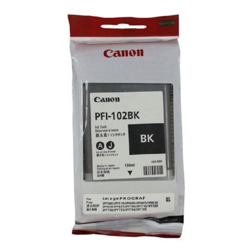 0895B001   Canon PFI-102   Original Canon Ink Cartridge - Black