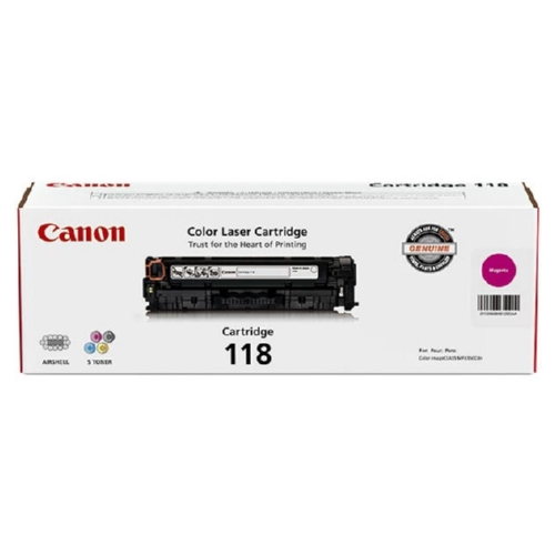 2660B001 | Canon 118 | Original Canon Toner Cartridge - Black