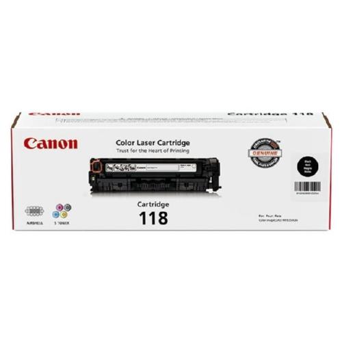 2662B001 | Canon 118 | Original Canon Toner Cartridge - Black