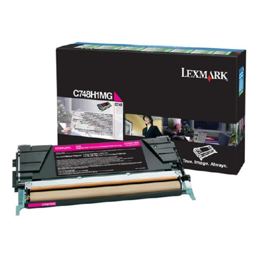 C748H1MG | Original Lexmark High-Yield Toner Cartridge – Magenta