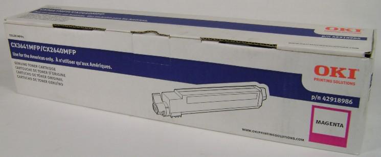 42918986 | Original OKI Toner Cartridge - Magenta