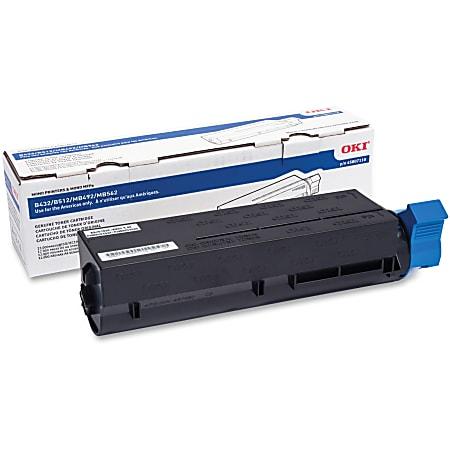 45807110   Original OKI Toner Cartridge - Black