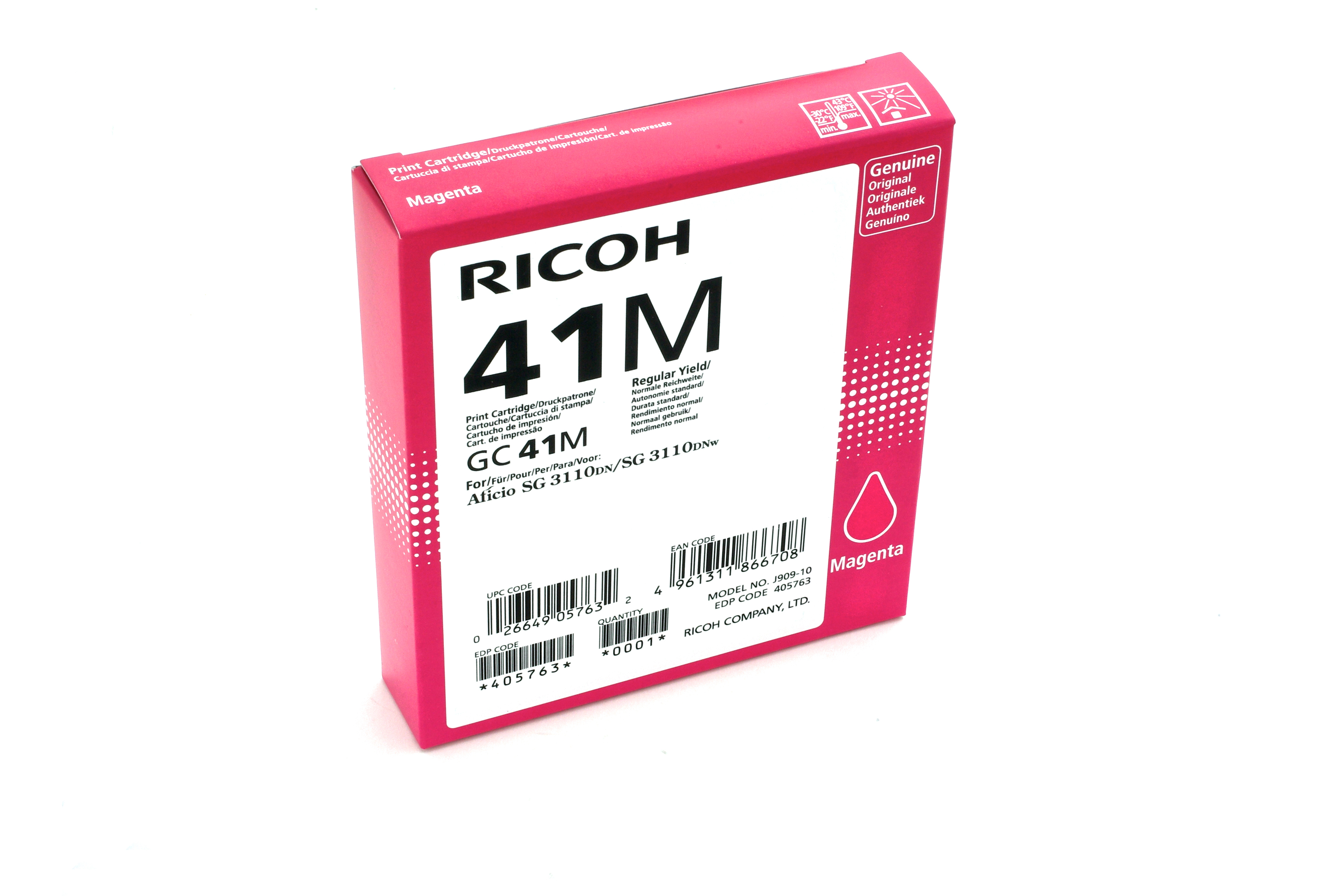 405763 | Original Ricoh ink Cartridge - Magenta