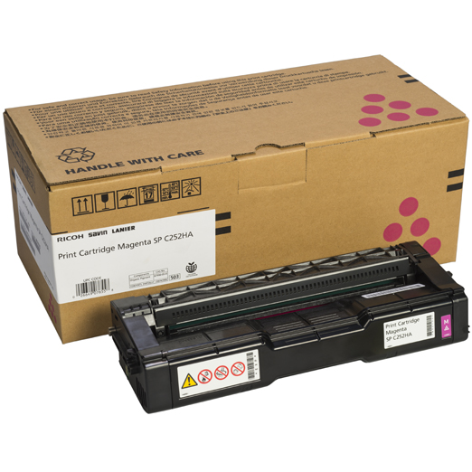407655 | Original Ricoh OEM Toner Cartridge - Magenta