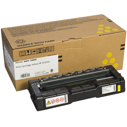 407656 | Original Ricoh OEM Toner Cartridge - Yellow