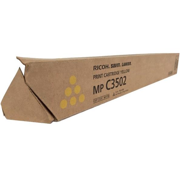 841736   Original Ricoh Toner Cartridge - Yellow