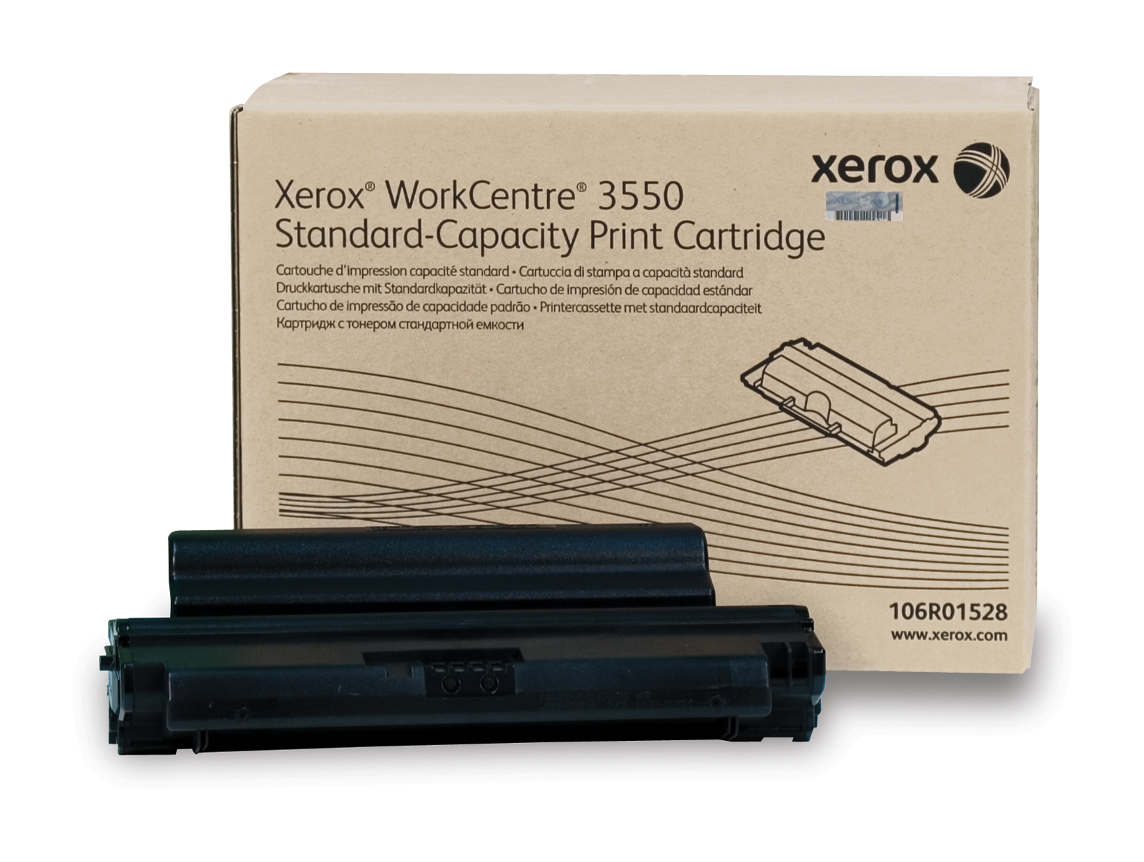 106R01528 | Original Xerox Toner Cartridge - Black