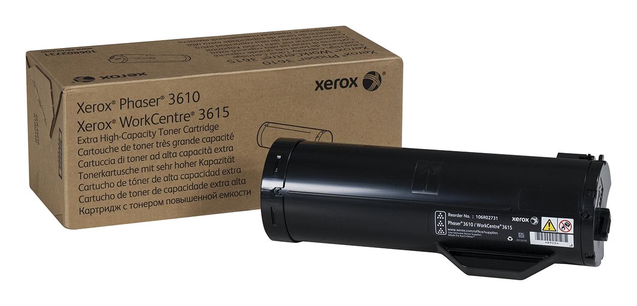 106R02731 | Original Xerox Toner Cartridge - Black