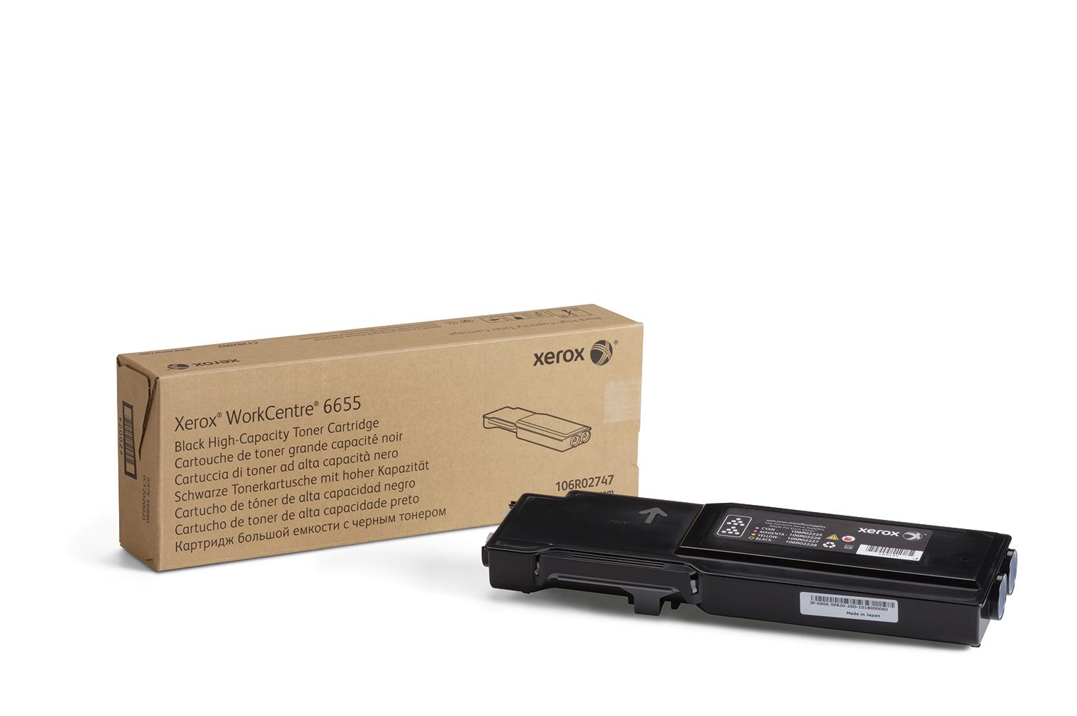 106R02747 | Original Xerox Toner Cartridge - Black
