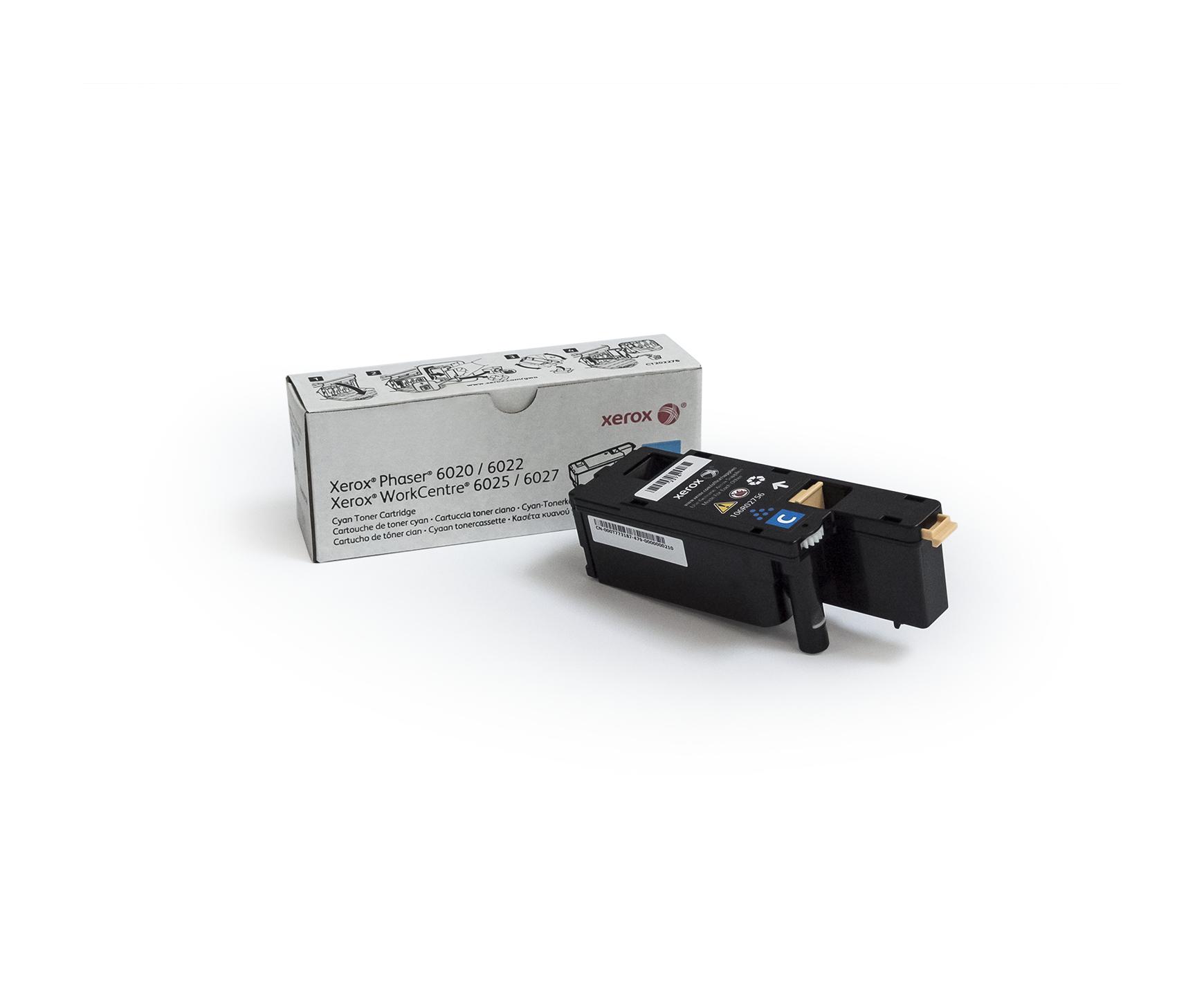 106R02756   Original Xerox Toner Cartridge - Cyan
