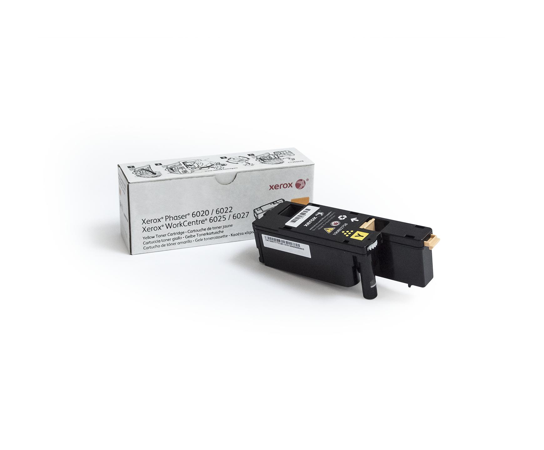 106R02758   Original Xerox Toner Cartridge - Yellow