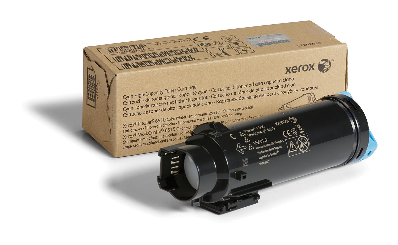 106R03477   Original Xerox Toner Cartridge - Cyan