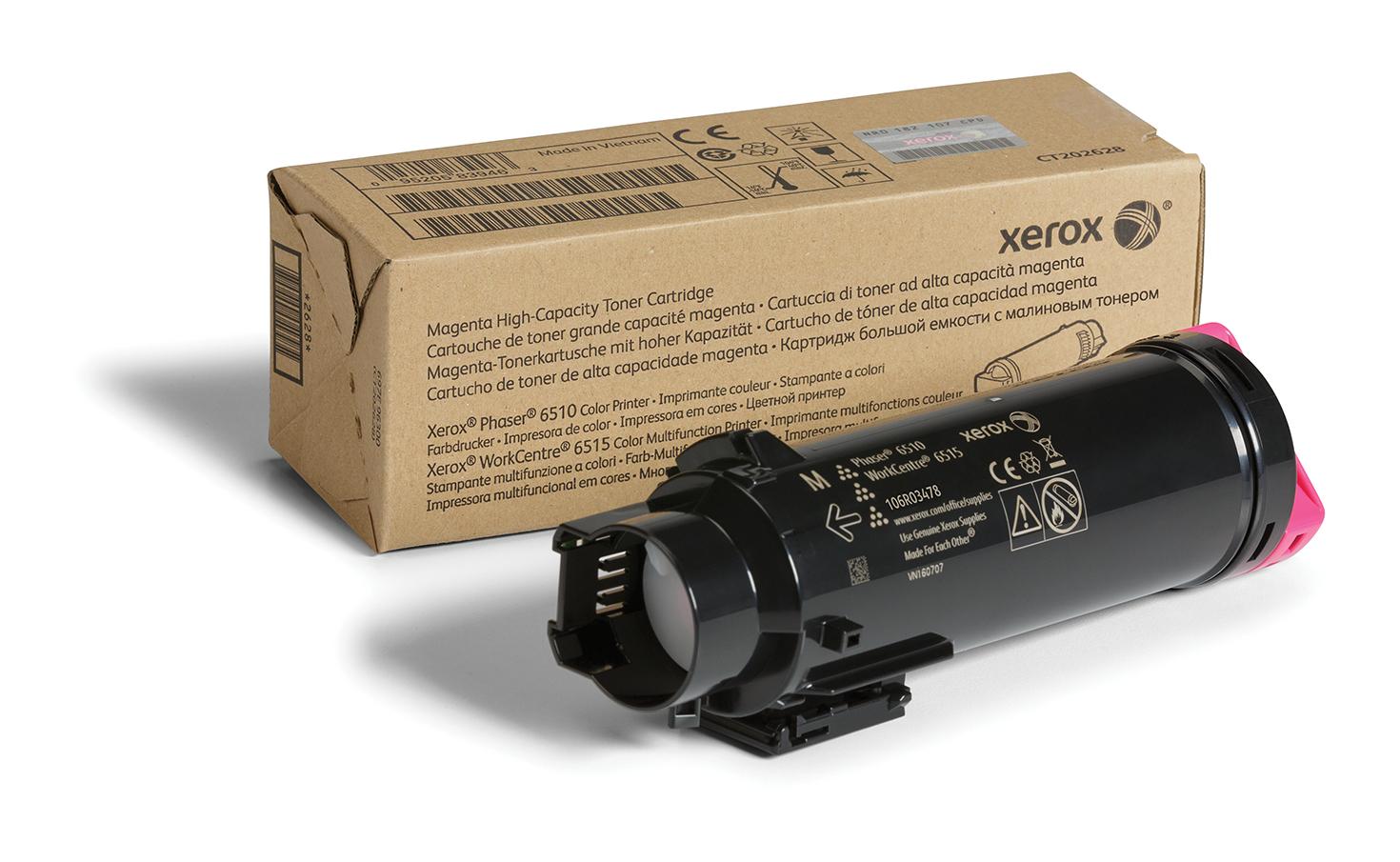 106R03478 | Original Xerox Toner Cartridge - Magenta