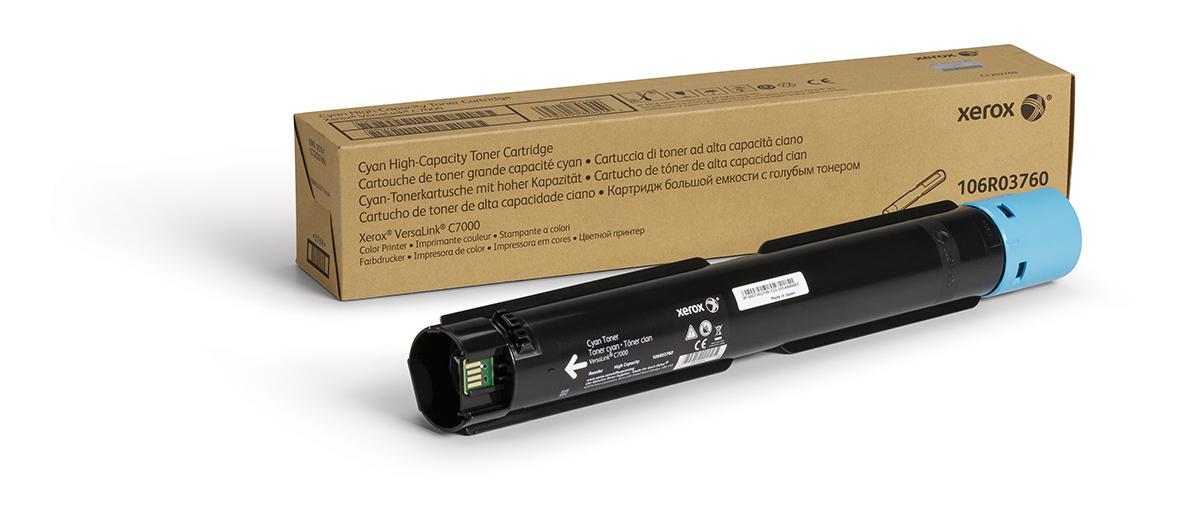 106R03760 | Original Xerox Toner Cartridge - Cyan