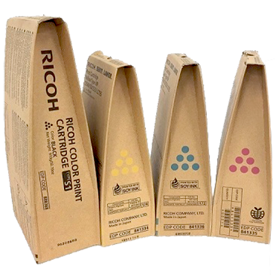 Ricoh Type S1 Set | 841333 841334 841335 841336 | Original Ricoh Laser Toner Cartridges – Black, Cyan, Magenta, Yellow