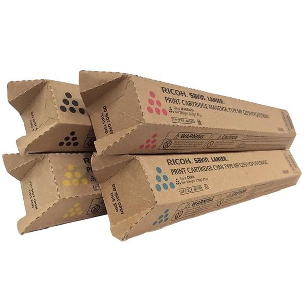 Ricoh MP-C2551 Set | 841586 841501 841502 841503 | Original Ricoh Laser Toner Cartridges – Black, Cyan, Magenta, Yellow