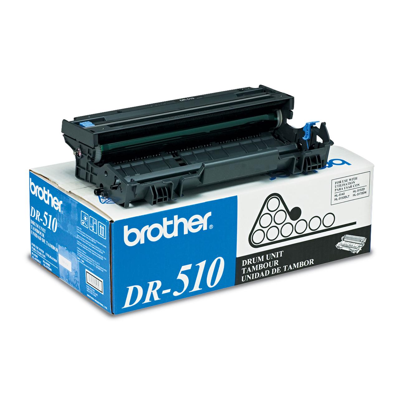 DR510 | Original Brother Drum Unit - Black