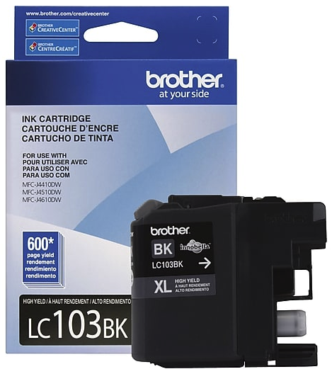 Original Brother LC-103 Black Ink Cartridge