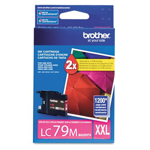 Original Brother LC-79 Magenta Super High Yield Ink Cartridge