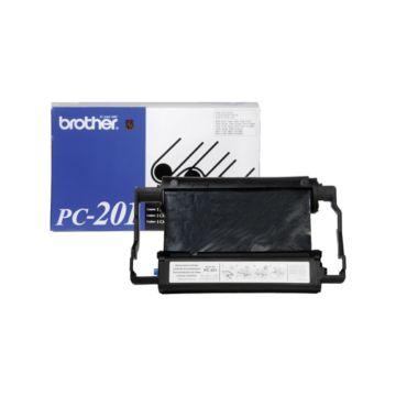 Original Brother PC-201 Black Thermal Transfer Print Cartridge