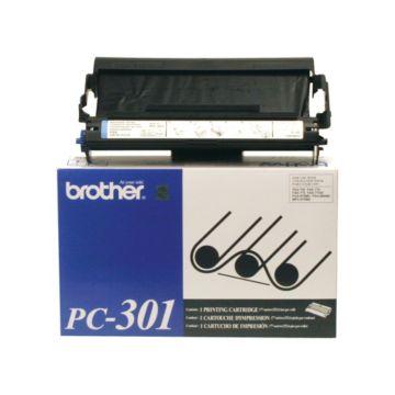 Original Brother PC-301 Black Thermal Transfer Print Cartridge