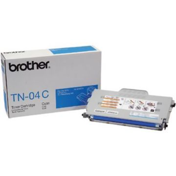 Original Brother TN-04C Cyan Laser Toner Cartridge