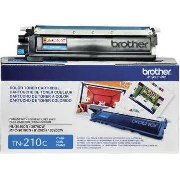 Original Brother TN-210C Cyan Laser Toner Cartridge