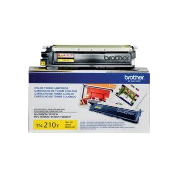 Original Brother TN-210Y Yellow Laser Toner Cartridge