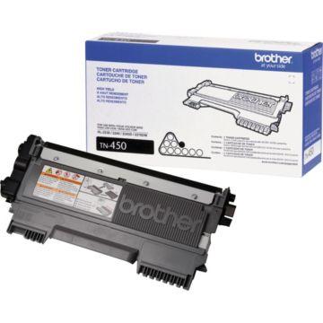Original Brother TN-450 Black High-Yield Laser Toner Cartridge