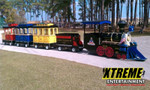 Trackless Electric Train