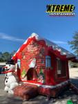 Snowman House Combo w/ Slide