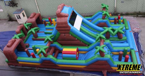 Mega Xtreme Obstacle Course