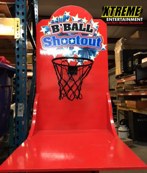 Basketball Shootout Carnival Game