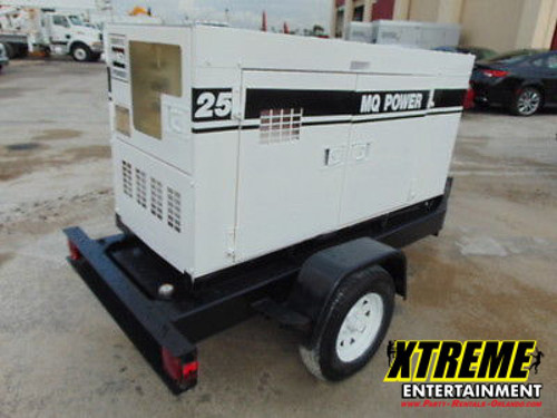25KW Towable Diesel Generator