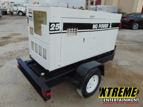 25KW Towable Diesel Generator