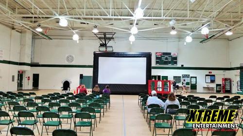 20' Movie Screen