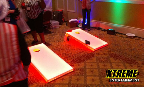 LED Glowing Cornhole Games