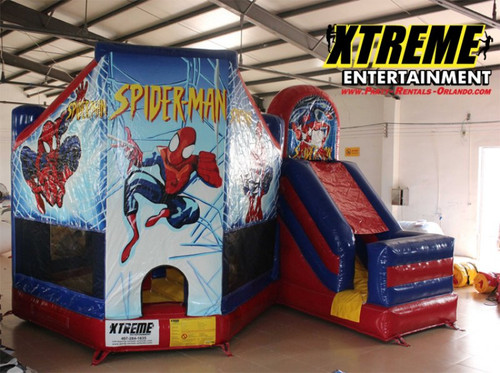 Spiderman Combo Bounce House