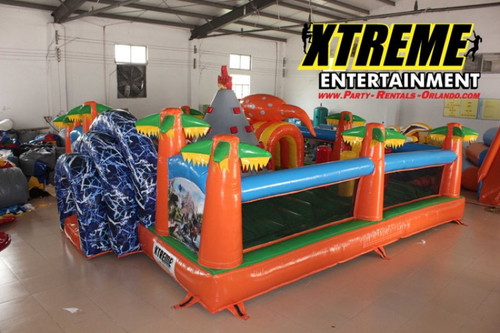 Jurassic Adventure Combo Bounce House