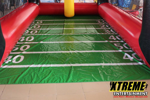 Giant Inflatable Field Goal Challenge