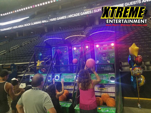 Basketball Arcade Free Throw Frenzy