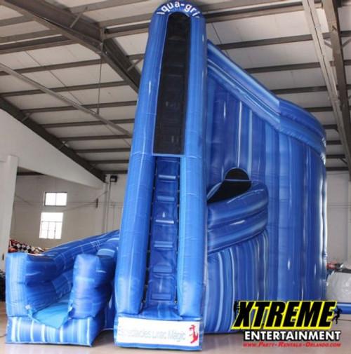 Mega 27 foot 360° Aqua Slide