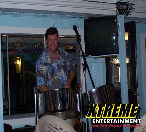 Steel Drum Musician