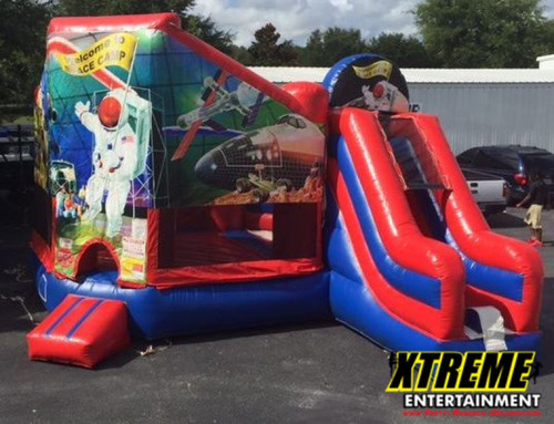 Space Camp Combo Bounce House