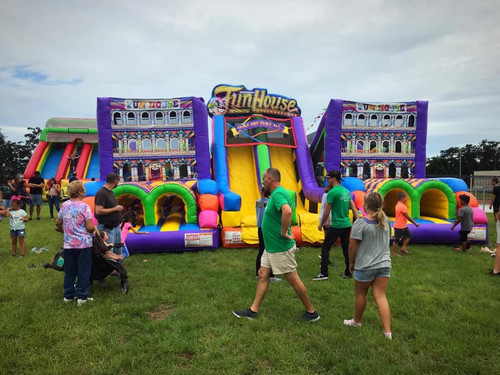 Funhouse Super Obstacle Course