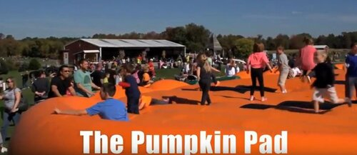 Jumpin Pumpkin Bounce House