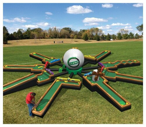 9 Hole Mini Golf Inflatable