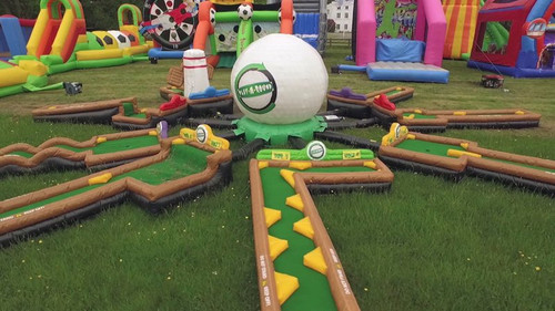 9 Hole Mini Golf Inflatable